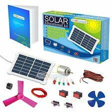 Stem Solar Educational Diy Learning Kit Electric Mechanical Assembly Diy Science