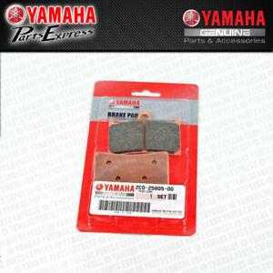 2006 - 2020 YAMAHA YZF-R6 YZFR6 YZF R6 OEM FRONT BRAKE PADS SET 2C0-25805-00-00