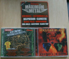 3 Stück Trash, Black, Death, Heavy Metal Compilations
