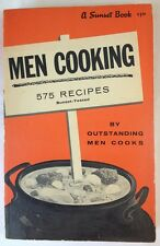 Sunset Book - Men Cooking / 575 Recipes by Outstanding Men Cooks (1963, PB)