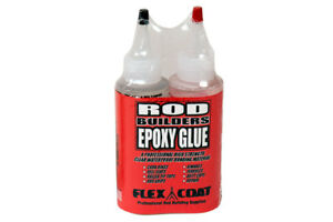 Flex Coat Rod Building Epoxy Glue - Pick Size -Free Shipping