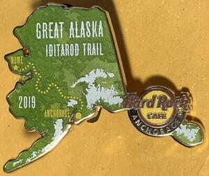 Hard Rock Cafe ANCHORAGE 2019 Great Alaska IDITAROD Trail CANCELED PIN #625069