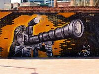 ART PRINT POSTER PHOTO GRAFFITI MURAL STREET ART SUPER ZOOM NOFL0339