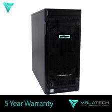 HP ML110 G10 Server 32GB RAM Silver 4112 2x 2TB S100i
