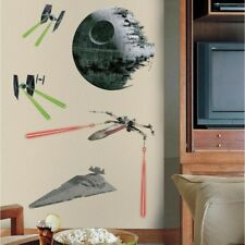 RoomMates Star Wars Wall Stickers, Episode VII - Giant Classic Ships Wall Decals
