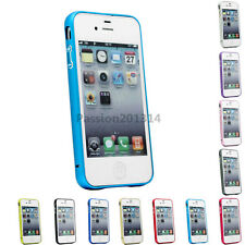 Hard Case Cover Metal Aluminum Bumper Frame For Apple iPhone 4 4S 4G