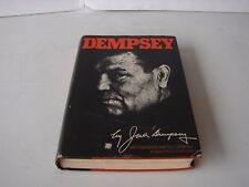 VINTAGE BOXING BOOK FIGHT BOXER FIGHTING DEMPSEY BY JACK DEMPSEY 1977 HARDCOVER