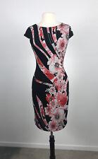 VERY VERY Floral Print Stretch Sheath Jersey Dress. SIZE 10. VGUC