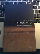 Economics: A Very Short Introduction by Dasgupta, Partha