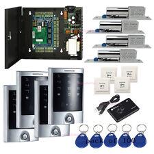 Tcpip 4 Door Access Control Kit Waterproof Metal Touch Keypad Reader Bolt Lock