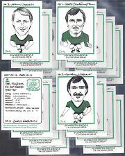 FOOTBALL ROBINSON-FULL SET- THE PILGRIMS FA CUP SQUAD 1983-84 EXC+++ X16
