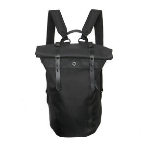 Stighlorgan Rori Laptop Backpack In Black CoreD7 Polycanvas With Rolling Top
