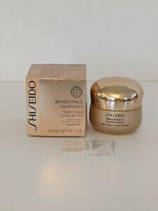New Shiseido Benefiance NutriPerfect Night Cream 1.7 oz / 50 ml FREE SHIPPING