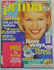 Prima Magazine. March 1998. New ways to beat stress. Superfoods act likemedicine