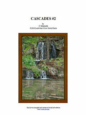 CASCADES #2  - CROSS STITCH CHART