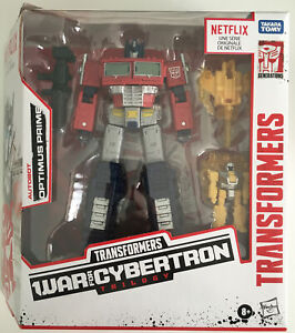 Transformers War For Cybertron Series Inspired Optimus Prime Battle 3-Pack