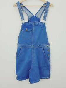 ZARA   Womens Embroidered Denim Overalls / Playsuit [ Size XS or AU 8 ]