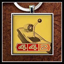 Vintage Olds 442 Advertisement Photo Keychain Cutlas Gift Oldsmobile