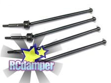 CARBON STEEL SWING SHAFT CVD 4PC TEAM LOSI 1/14 MINI 8IGHT T TRUGGY FRONT+REAR