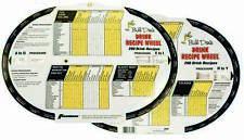 Bill Dove Drink Mixing Recipe Wheel Includes 290 Drink Recipes