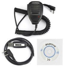 orig. USB CAVO DI PROGRAMMAZIONE + MICROFONO PER Baofeng GT-3, UV-82L, UV-B6/B5
