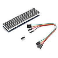 MAX7219 Dot Matrix Module for Microcontroller 4 In One Display 8*8 Dot Matrix