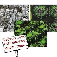 Hydro Dip Hydrographic Film Water Transfer Printing Film 2 Zombie 3 Pack