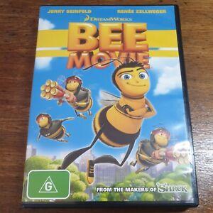 Bee Movie DVD R4 LIKE NEW FREE POST Renée Zellweger Seinfeld Animation/Anime