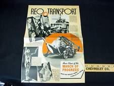 "1936 REO ""Transport"" Roto Truck Sales Brochure"