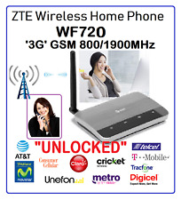 ZTE WF720 Wireless Home Phone Base AT&T  T-Mobile Cricket  Metro  Red Pocket H2O