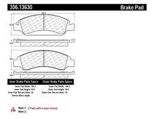 Centric Fleet Performance Pads w/Hardware fits 2007-2009 GMC Yukon Sierra 1500 S