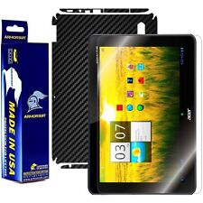 ArmorSuit MilitaryShield Acer Iconia Tab A200 Screen Protector + Black Carbon
