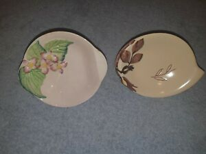 Two Carlton Ware Butter Dishes