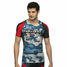 Reebok CrossFit Rcf Camo Compression Fitness Athletic Shirt Size:Small Nwt $90