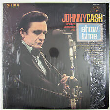 "JOHNNY CASH & TENNESSEE TWO ""Showtime"" LP 1969 ROCKABILLY NM- VG++"