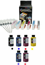 KIT 6 CARTOUCHES RECHARGEABLE 24 / 24XL EXPRESSION PHOTO XP-950 + 600ML D'ENCRE