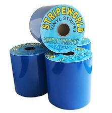 50mm Self Adhesive Royal Blue Vinyl Stripe sold by metre for car caravan boat