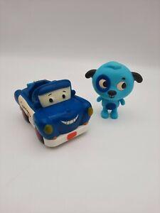 My B.Toys Land B Woofer and Safety Sam Car Lights & Sound Toy Preschool