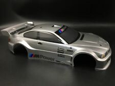 Body body for 1/10 200mm bmw m3 RC Car Grey Metal. Painted Grey HSP KYOSHO HPI