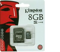 Kingston SDC10G2/8GB Scheda MicroSD da 8 GB, Classe 10, UHS-I, 45 MB/s