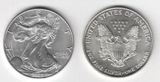 2002 USA Stati Uniti 1 Oncia OZ Argento Liberty Eagle Fior di Conio Unc