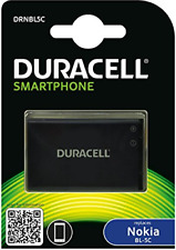 Duracell Replacement Nokia BL-5C and BL-5CB Battery for Mobile Phone