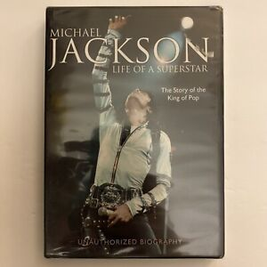 Michael Jackson Life Of A Superstar Unauthorized Biography DVD New Still Sealed