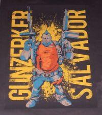 Borderlands 2 Salvador The Gunzerker Screen Print Limited Poster Lithograph Rare