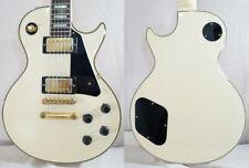 F/S BURNY RLC-50 WHITE Les Paul Custom 2002 made Bernie Fernandez