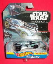 Hot Wheels Star Wars - Carships Vehicles - New - Tie Striker - Rogue One