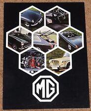 1969 MG RANGE Sales Brochure - MGB GT, MGB, Midget MkIII, 1300 MkII - Excellent!
