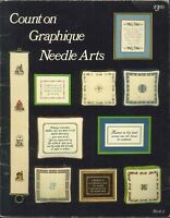 Count On Graphique Arts Cross Stitch Book 2 1978 Bell Pull Growth Chart Wedding
