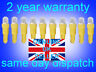 10 x 286 LED Xenon YELLOW T5 Dashboard-instrument panel bulbs quick and easy mod