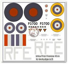 Peddinghaus 1/48 Polish Hawker Hurricane Squadron Unit Markings in RAF WWII 904
